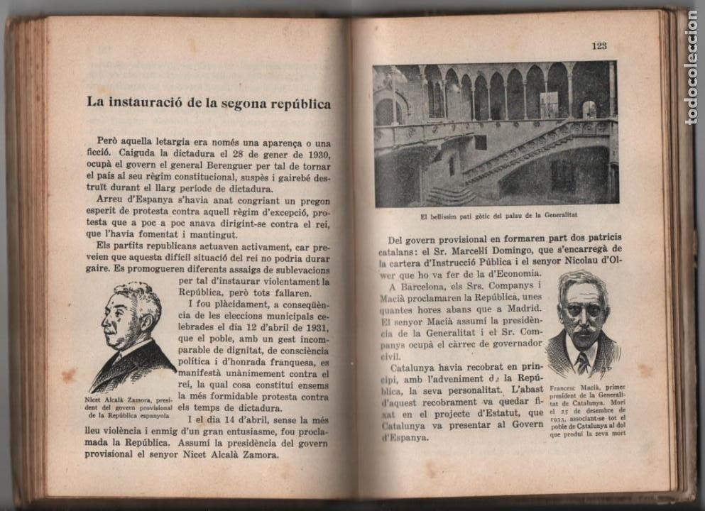Militaria: LA TERRA CATALANA- POR JOAQUIN PLA CARGOL- AÑO 1936.- 190 `PAGINAS, VER FOTOS - Foto 18 - 197184101