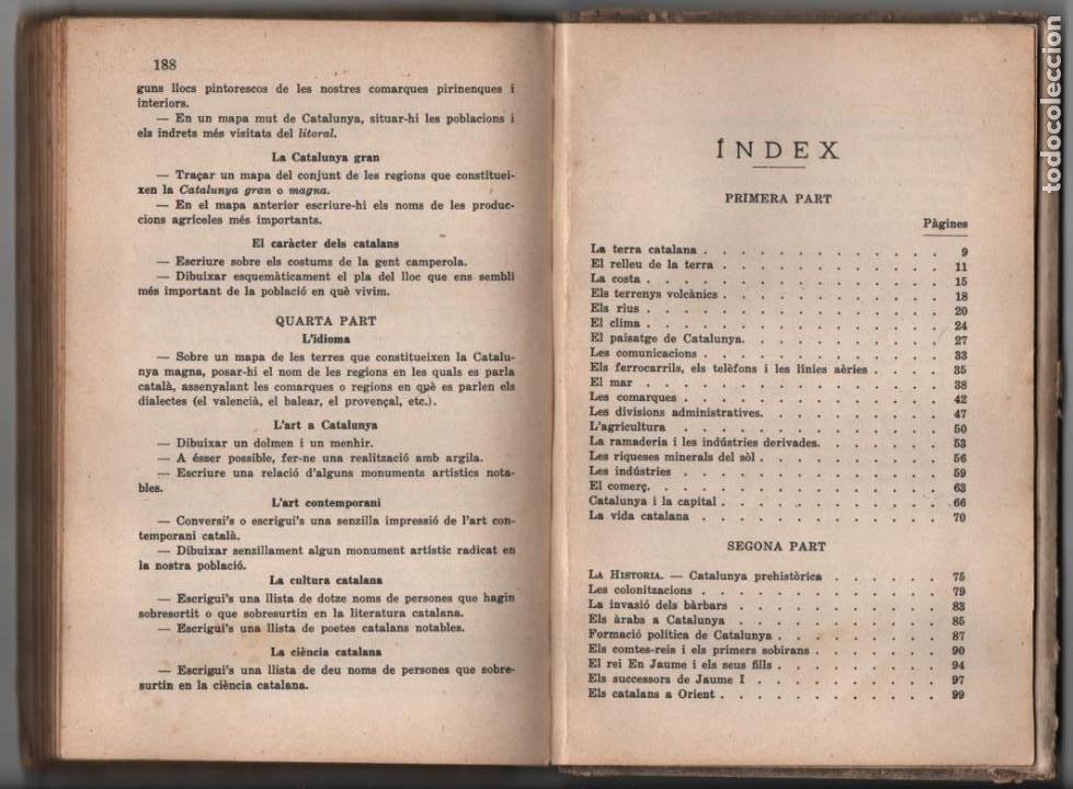Militaria: LA TERRA CATALANA- POR JOAQUIN PLA CARGOL- AÑO 1936.- 190 `PAGINAS, VER FOTOS - Foto 21 - 197184101