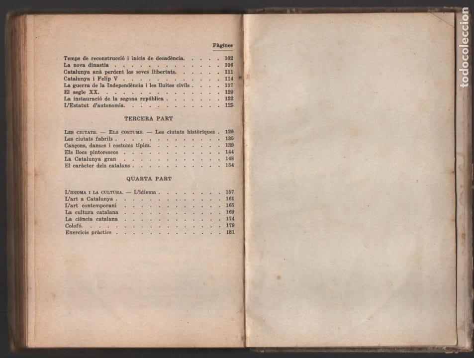Militaria: LA TERRA CATALANA- POR JOAQUIN PLA CARGOL- AÑO 1936.- 190 `PAGINAS, VER FOTOS - Foto 22 - 197184101