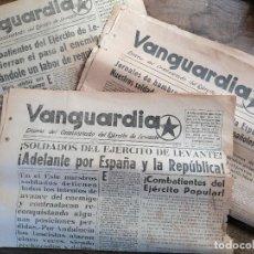 Militaria: DIARIO COMISARIADO EJERCITO DE LEVANTE . Lote 198510672