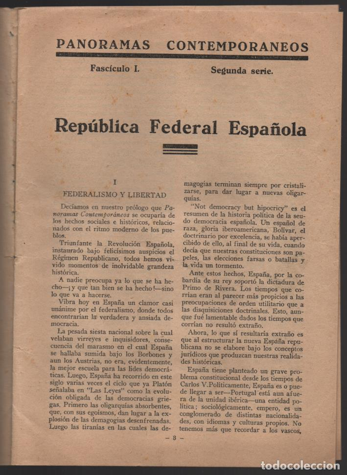 Militaria: BARCELONA,- EL PROGRAMA DEL MAESTRO- POR F. PI Y MARGALL, AÑO 1931, 16 PAGINAS, VER FOTOS - Foto 3 - 198892465