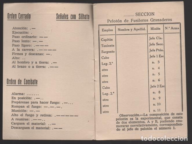 Militaria: SAHARA- MARRUECOS- LEGION. CARECTERISTICAS PELOTON FUSILEROS GRANADEROS- C.E.T.M.E. Y GRANADAS, - Foto 2 - 200010710