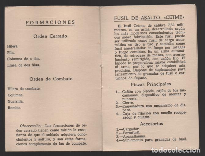Militaria: SAHARA- MARRUECOS- LEGION. CARECTERISTICAS PELOTON FUSILEROS GRANADEROS- C.E.T.M.E. Y GRANADAS, - Foto 3 - 200010710