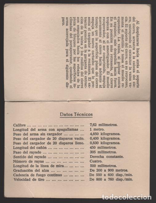 Militaria: SAHARA- MARRUECOS- LEGION. CARECTERISTICAS PELOTON FUSILEROS GRANADEROS- C.E.T.M.E. Y GRANADAS, - Foto 4 - 200010710