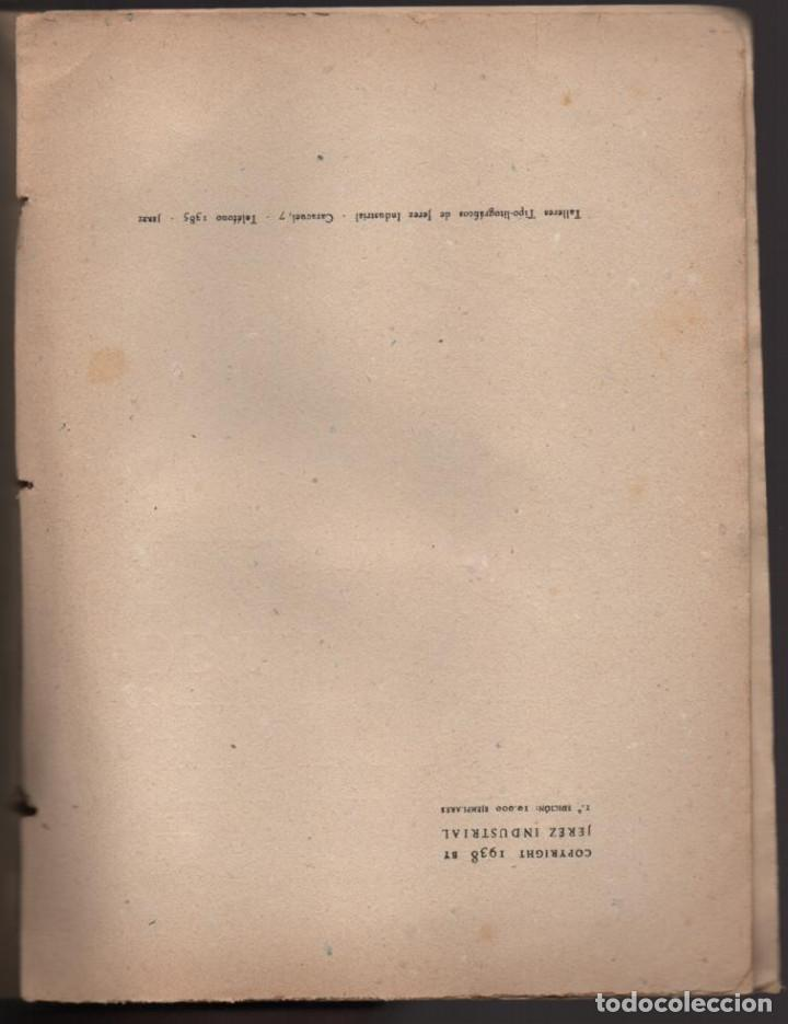 Militaria: HACIA LA HISTORIA DE LA FALANGE.. TOMO I. SANCHO DAVILA -JULIAN PEMARTIN-IMPRENTA JEREZ IND.AÑO 1938 - Foto 2 - 201930708