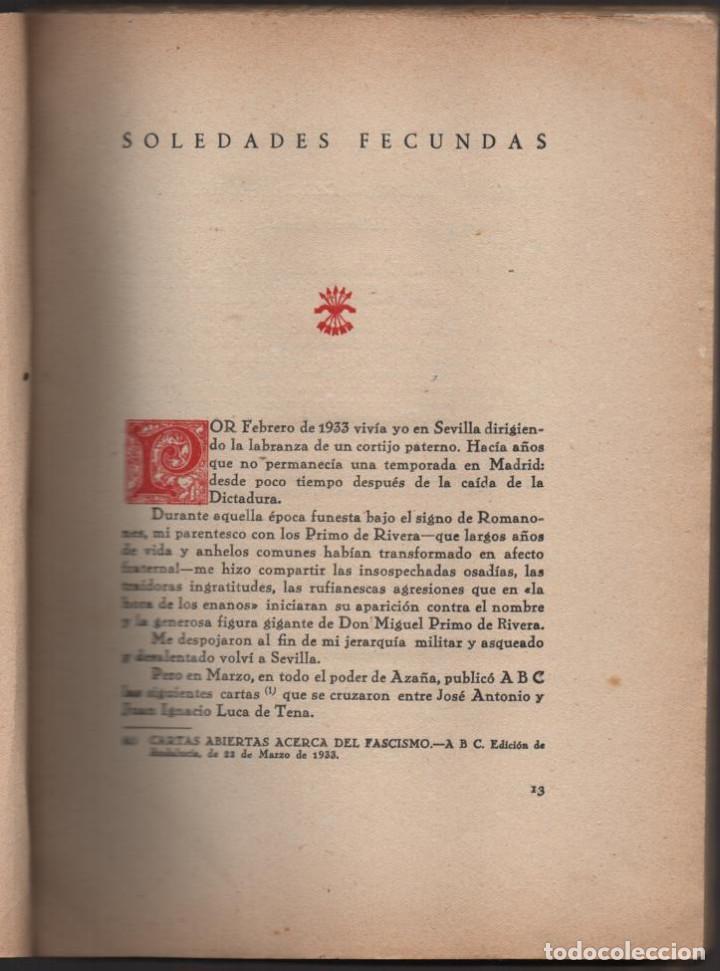 Militaria: HACIA LA HISTORIA DE LA FALANGE.. TOMO I. SANCHO DAVILA -JULIAN PEMARTIN-IMPRENTA JEREZ IND.AÑO 1938 - Foto 4 - 201930708