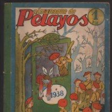 Militaria: ALMANAQUE - PELAYOS- AÑO 1938- 128 PAGINAS- VER FOTOS. Lote 201931042