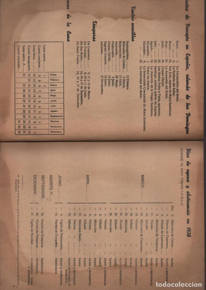 Militaria: ALMANAQUE - PELAYOS- AÑO 1938- 128 PAGINAS- VER FOTOS - Foto 4 - 201931042