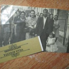 Militaria: ALICANTE CONDUCTOR MILITAR POST GUERRA CIVIL CON FAMILIA EN RAMBLA ALICANTE. Lote 202505153