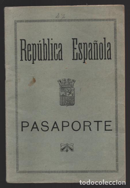 PASAPORTE REPUBLICA ESPAÑOLA- ANEXO- NUEVO - VER FOTOS (Militar - Guerra Civil Española)