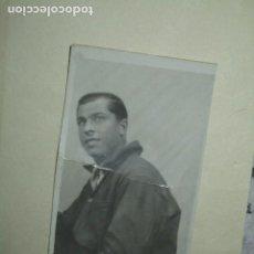 Militaria: FOTO CONDUCTOR GUERRA CIVIL FAMILIA F. RIVERA FRENTE DE ZARAGOZA. Lote 202806602