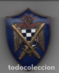 ESCUDO DE PECHO. F.E. S.U. MIDE: 5,50 X 4 C.M. VER FOTOS (Militar - Guerra Civil Española)