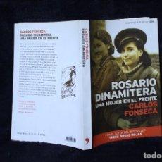 Militaria: ROSARIO DINAMITERA LIBRO MEMORIAS GUERRA CIVIL ESPAÑOLA. Lote 202994206