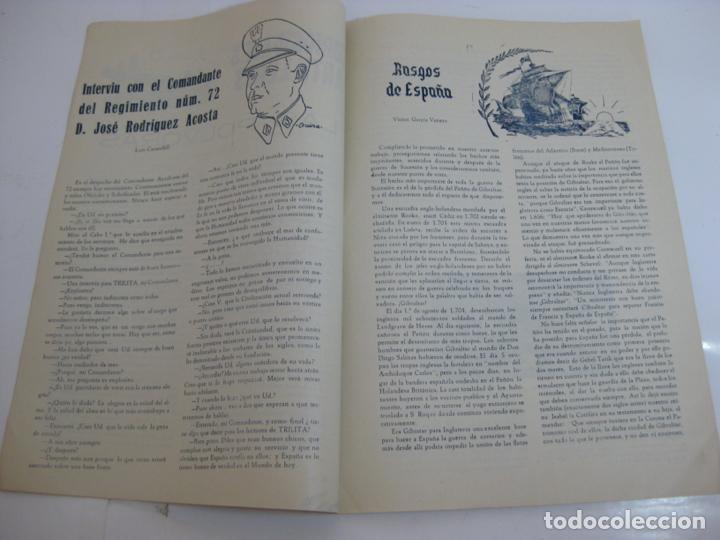 Militaria: TRILITA - REGIMIENTOS DE ARTILLERIA Nº 62 y 72 - nº 7 año 1951 - Foto 2 - 203032858