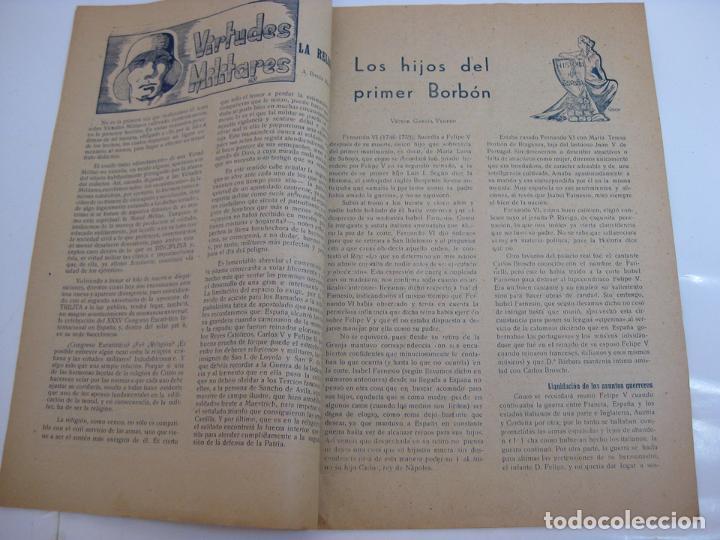 Militaria: TRILITA - REGIMIENTOS DE ARTILLERIA Nº 62 - nº 16 año 1952 - Foto 2 - 203033078