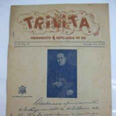 Militaria: TRILITA - REGIMIENTOS DE ARTILLERIA Nº 62 - Nº 16 AÑO 1952. Lote 203033078