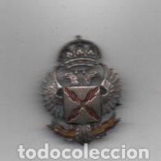 Militaria: REQUETE,-INSIGNIA ALFILER- BANDERA Y ESCUDO REQUETE.- MIDE: 4,50 X 2.70 C.M. VER FOTOS. Lote 203105451
