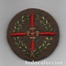 Militaria: DISTINTIVO MILITAR BORDADO A MANO- LAUREADA- DIAMETRO: 6 C.M. VER FOTOS. Lote 203106990
