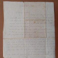 Militaria: CARTA CON POEMA ENVIADA DESDE EL HOSPITAL MILITAR DE CHESTE (VALENCIA) 1938 GUERRA CIVIL ESPAÑOLA. Lote 203360230