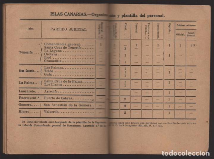 Militaria: SOMATENES ARMADOS DE ESPAÑA.- REGLAMENTO ORGANICO- 1925- VER FOTOS - Foto 10 - 204356826