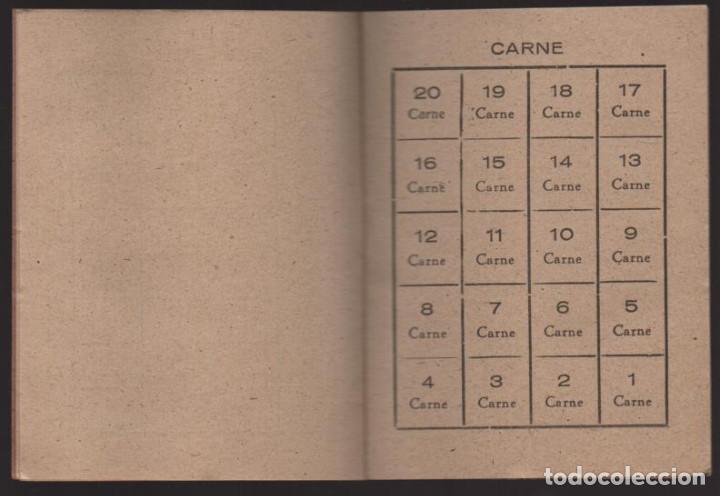 Militaria: HUESCA.- CARTILLA RACIONAMIENTO. ENERO A ABRIL 1943, COMPLETA.- VER FOTOS - Foto 3 - 205410290