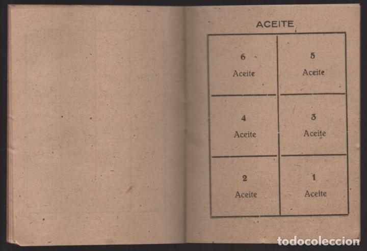 Militaria: HUESCA.- CARTILLA RACIONAMIENTO. ENERO A ABRIL 1943, COMPLETA.- VER FOTOS - Foto 4 - 205410290