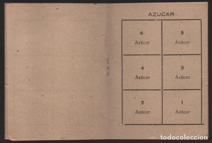 Militaria: HUESCA.- CARTILLA RACIONAMIENTO. ENERO A ABRIL 1943, COMPLETA.- VER FOTOS - Foto 5 - 205410290