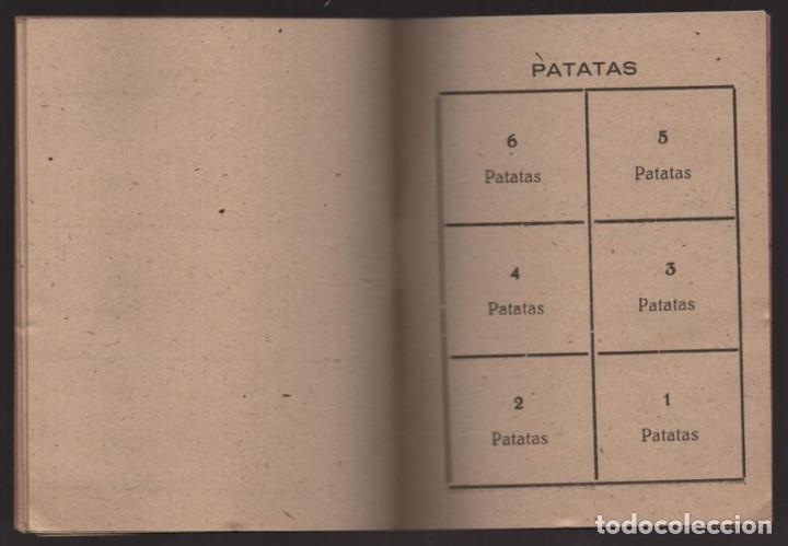 Militaria: HUESCA.- CARTILLA RACIONAMIENTO. ENERO A ABRIL 1943, COMPLETA.- VER FOTOS - Foto 7 - 205410290