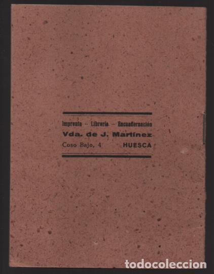 Militaria: HUESCA.- CARTILLA RACIONAMIENTO. ENERO A ABRIL 1943, COMPLETA.- VER FOTOS - Foto 8 - 205410290