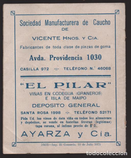 Militaria: SANTIAGO DE CHILE- UNION ESPAÑOLA- PROGRAMA DE FESTEJOS- MAYO 1939.- VER FOTOS - Foto 8 - 205431728