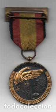Militaria: MEDALLA MILITAR- 17 JULIO 1936-JUNTO AL ESCUDO-INDUSTRIAS ENGAÑA- - VER FOTOS - Foto 2 - 206512818