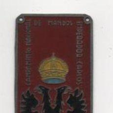 Militaria: CAMPAMENTO NACIONAL DE MANDOS--EMPERADOR CARLOS- MIDE:9 X 3 C.M. VER FOTOS. Lote 206581576