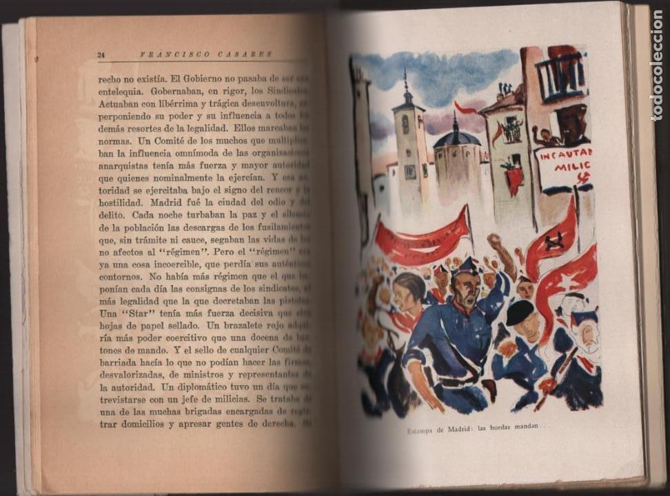 Militaria: RECUERDO DE UN ASILADO EMBAJADA ARGERTINA MADRID- AÑO 1937- 286 PAG. VER FOTOS - Foto 3 - 206583895
