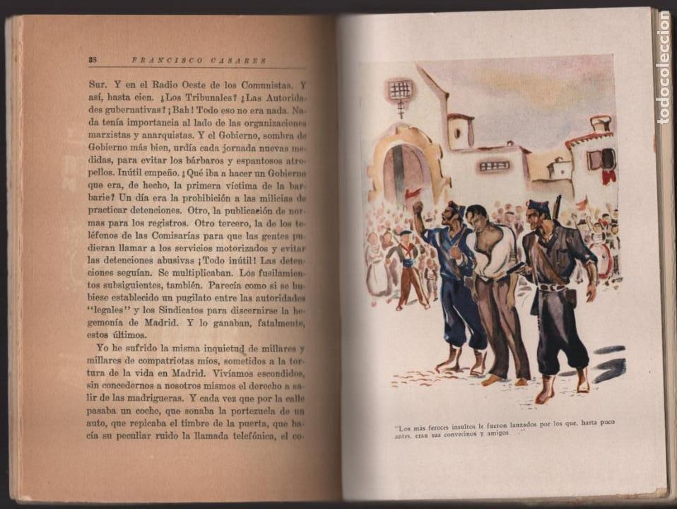 Militaria: RECUERDO DE UN ASILADO EMBAJADA ARGERTINA MADRID- AÑO 1937- 286 PAG. VER FOTOS - Foto 4 - 206583895