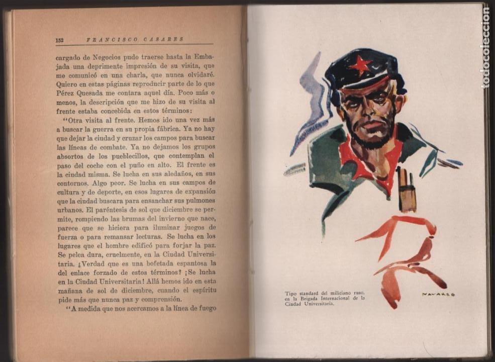 Militaria: RECUERDO DE UN ASILADO EMBAJADA ARGERTINA MADRID- AÑO 1937- 286 PAG. VER FOTOS - Foto 6 - 206583895