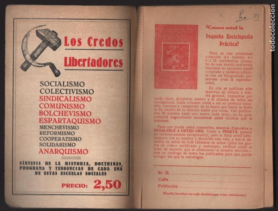 Militaria: P.C. LIBRE ESPAÑOL- -LA SALVACION ROJA- COMPLETO 210 PAG.- MAS BOLETIN ADHESION- VER FOTOS - Foto 3 - 208004135