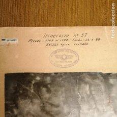 Militaria: REGION AEREA DEL CENTRO, 2ª SECCION-INFORMACION- 3 MAPAS AEREAS DE MADRID-FECHA 25-4-1938.- VERFOTOS. Lote 208592358