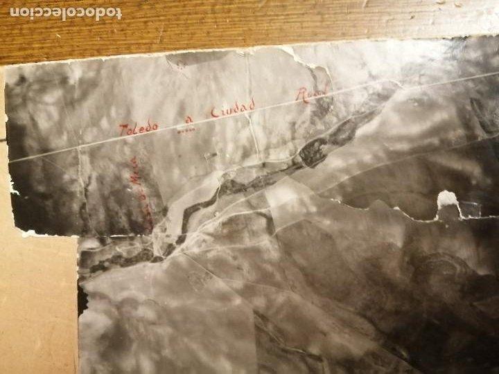 Militaria: REGION AEREA DEL CENTRO, 2ª SECCION-INFORMACION- 3 MAPAS AEREAS DE MADRID-FECHA 25-4-1938.- VERFOTOS - Foto 4 - 208592358