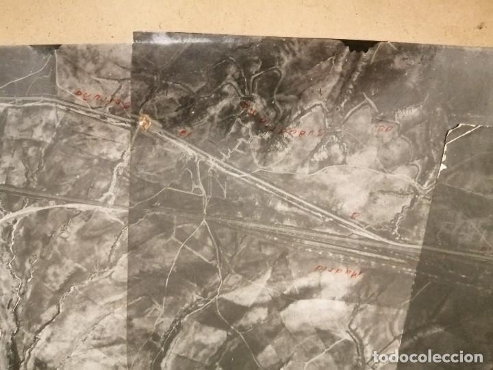 Militaria: REGION AEREA DEL CENTRO, 2ª SECCION-INFORMACION- 3 MAPAS AEREAS DE MADRID-FECHA 25-4-1938.- VERFOTOS - Foto 6 - 208592358