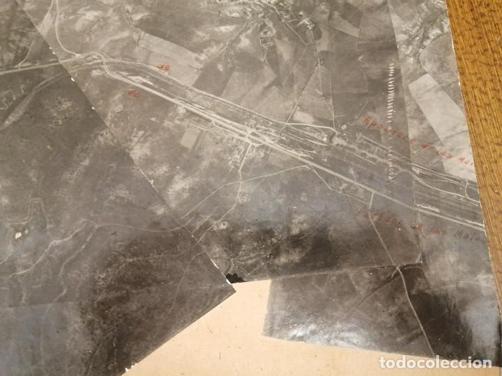 Militaria: REGION AEREA DEL CENTRO, 2ª SECCION-INFORMACION- 3 MAPAS AEREAS DE MADRID-FECHA 25-4-1938.- VERFOTOS - Foto 10 - 208592358