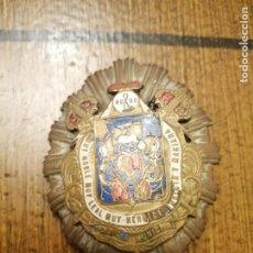 Militaria: SEVILLA.-PLACA POLICIA MUNICIPAL- MIDE: 7 X 5 C.M. REVERSO Nº 515,.CASTELLS-BARCELONA- VER FOTOS. Lote 208995476