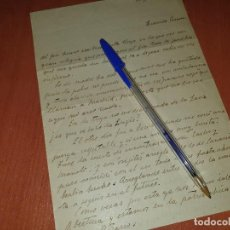 Militaria: CARTA DE LOS LEGIONARIOS JOSE Y RAFAEL OROZCO MASSIEU A SU HERMANA, GUERRA CIVIL, TRUJILLO 1937. Lote 210001905