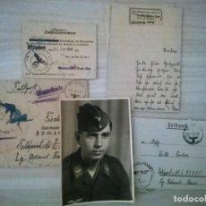 Militaria: LEGIÓN CONDOR - DOCUMENTACIÓN DE UN SOLDADO. Lote 210055557