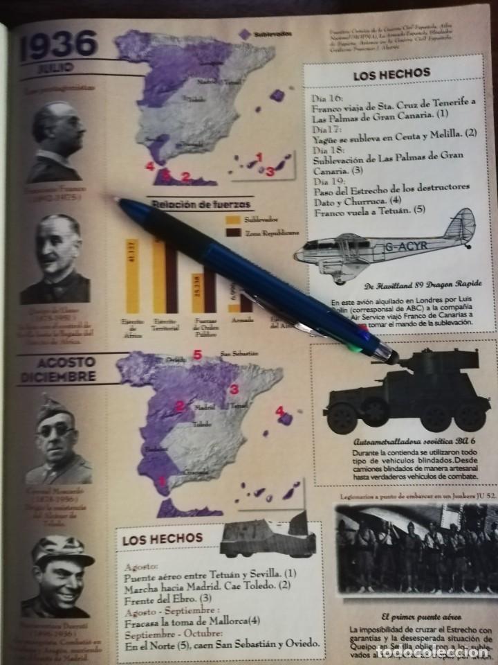 Militaria: LA REVISTA (EL MUNDO). Nº 39, AÑO 1996. 60 AÑOS DESPUÉS ESPAÑA EN GUERRA... - Foto 4 - 210787519