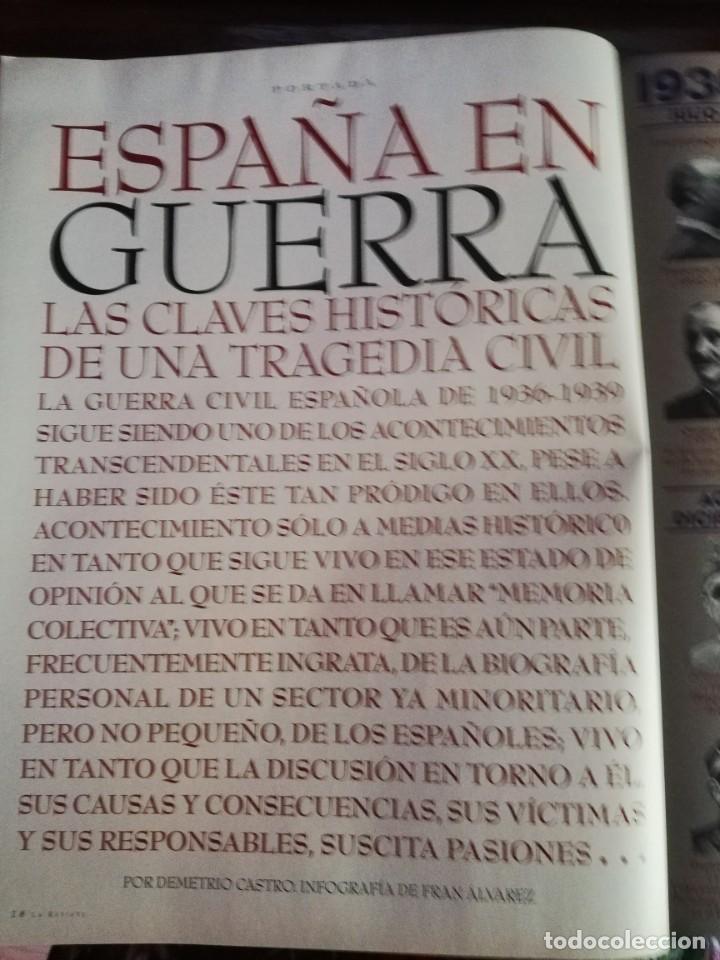 Militaria: LA REVISTA (EL MUNDO). Nº 39, AÑO 1996. 60 AÑOS DESPUÉS ESPAÑA EN GUERRA... - Foto 3 - 210787519