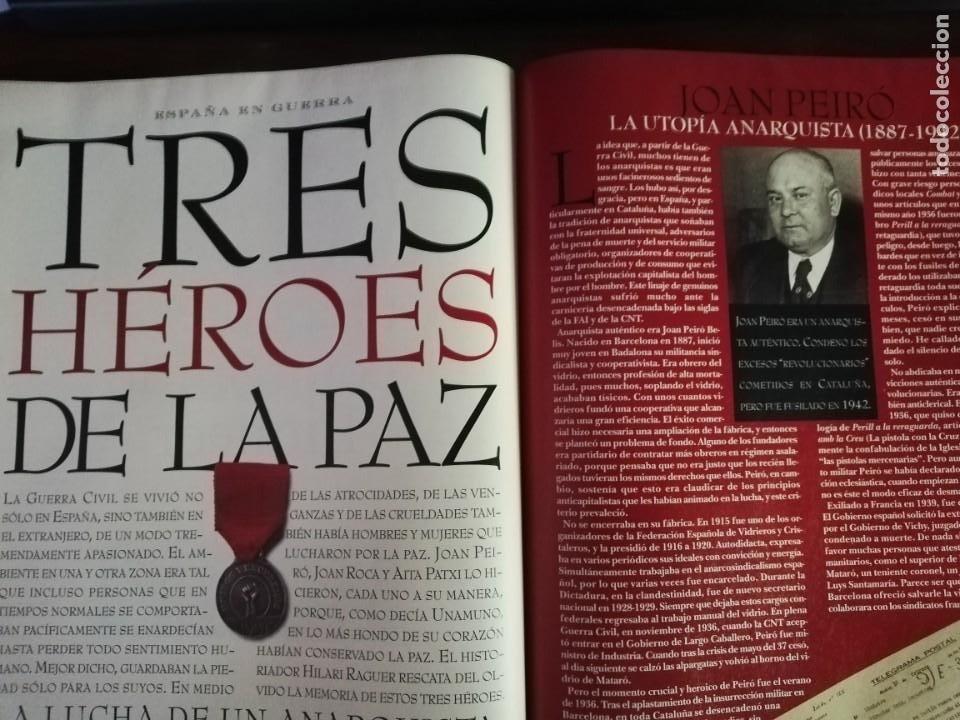 Militaria: LA REVISTA (EL MUNDO). Nº 39, AÑO 1996. 60 AÑOS DESPUÉS ESPAÑA EN GUERRA... - Foto 7 - 210787519