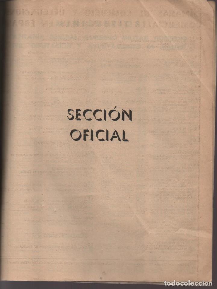 Militaria: ANUARIO TELEFONICO- SECCION OFICIAL- JEFATURA DEL ESTADO.- TAPA SUELTA- VER FOTOS - Foto 3 - 211642584