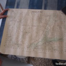 Militaria: MAPA DE ARANJUEZ TALLERES DEL INSTITUTO GEOGRAFICO EDICION ESPECIAL MADRID OCTUBRE 1937 GUERRA CIVIL. Lote 211880348