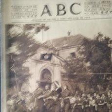 Militaria: ABC 23 AGOSTO DEL 1939 EN MEMORIA DE LOS CAIDOS. Lote 211982822