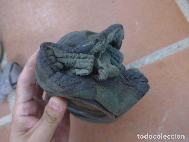 Militaria: Antigua mascara de gas alemana de guerra civil, Legion condor, con gris original. Antigas. Alemania. - Foto 6 - 213663223